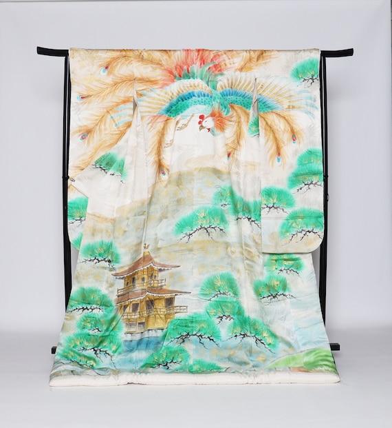 RARE!! Uchikake Kimono, Wedding Kimono, Japanese K
