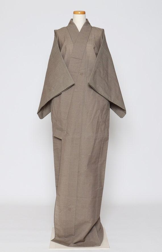 kimono robe / vintage Japanese kimono / casual kim