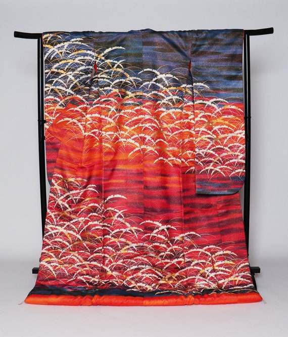 Uchikake Kimono, Wedding Kimono, Japanese Kimono R