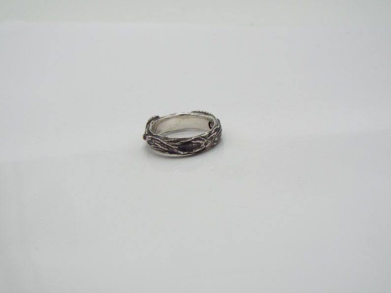 Snake Nature Band Snakes in nature ring Goth Serpent ring sterling silver snake ring Nature inspired Snake ring Snakes Intertwined