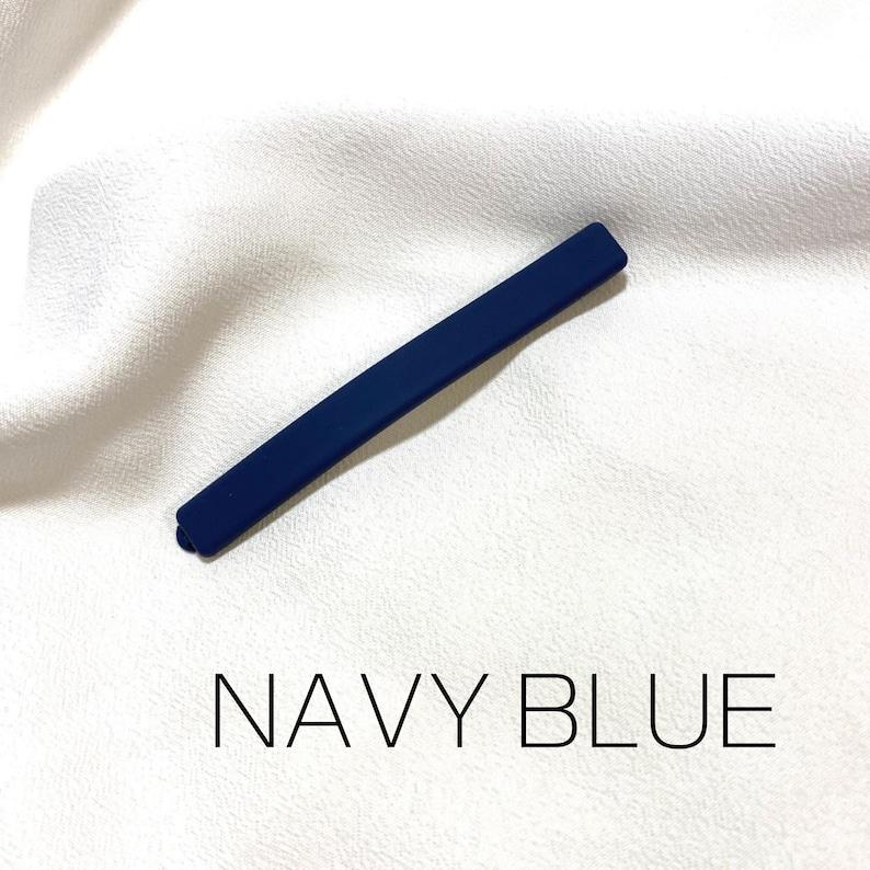 Morandi Thin Bobby Pin Korean Hair Accessories Minimalist Clip Color Hair Pins Acrylic Hair Barrette Matte Hair Pin