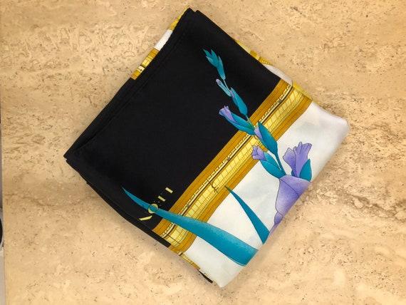 Leonard Paris silk scarf