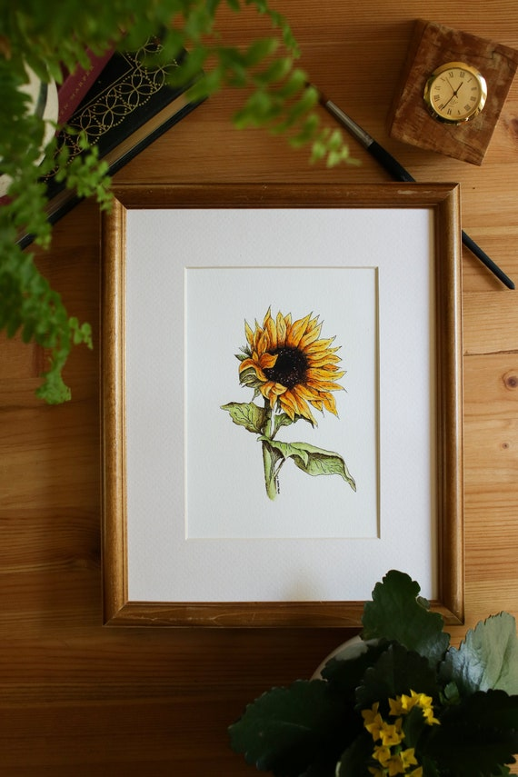 Sunflowers 5x7 Print