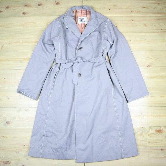 Burberry Prorsum Women Trench Coat Grey Mac Trench