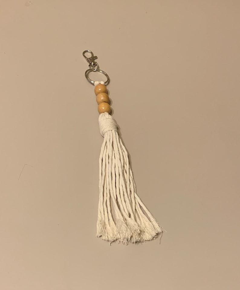 Large Tassel Keychain