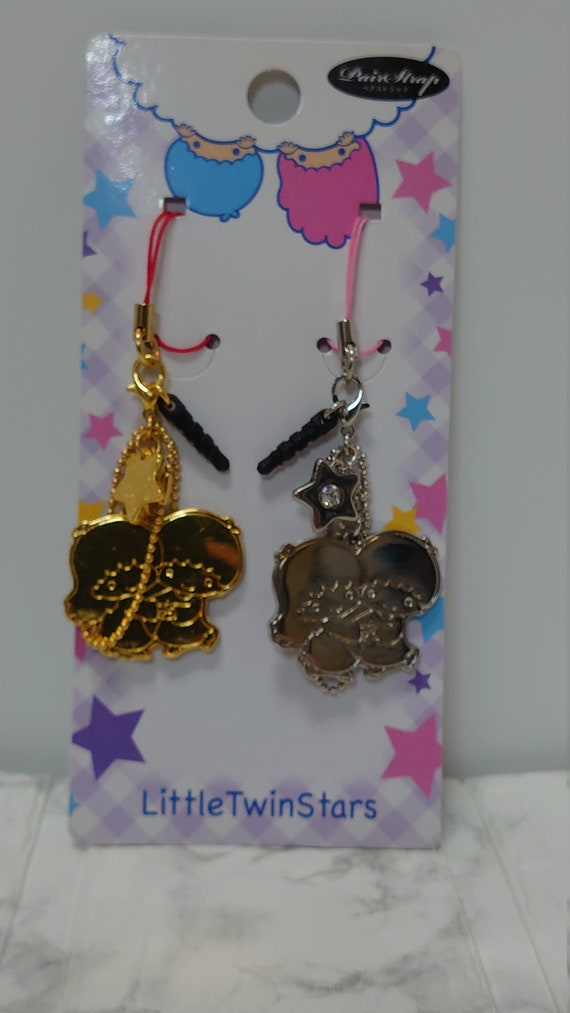Little Twin Stars Japan Limited Pair Strap Keychai
