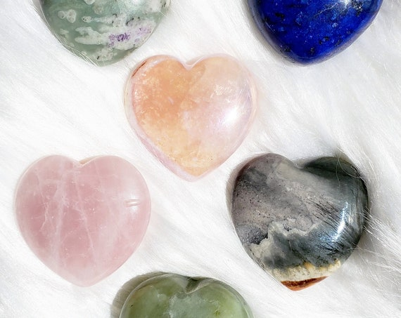 Crystal Hearts | Varied Options
