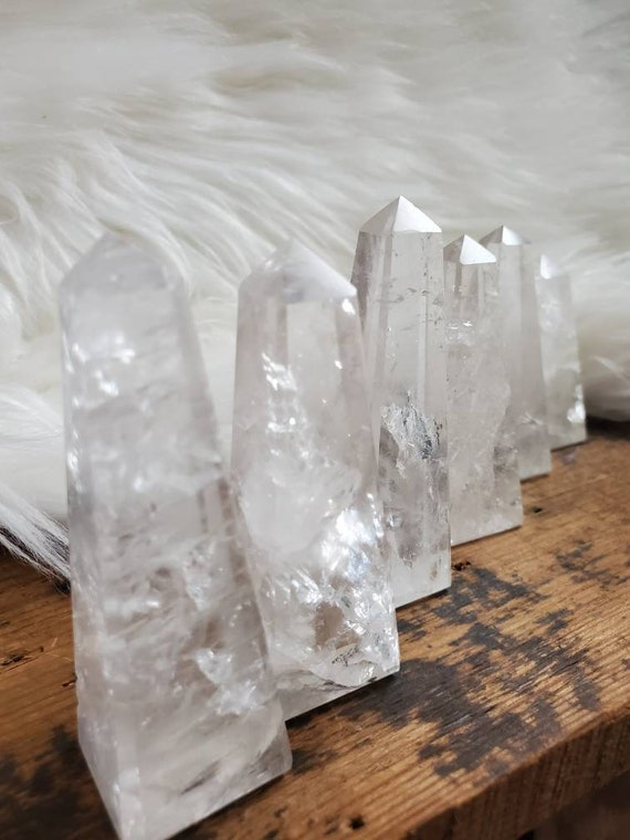 Clear Quartz Tower!