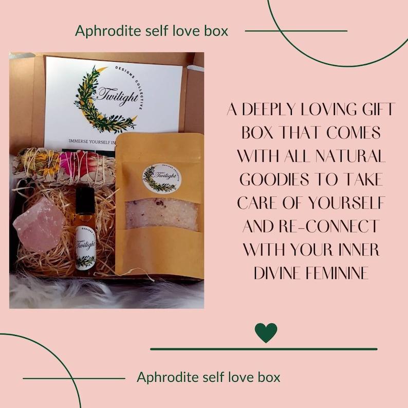 self love ritual Aphrodite self love box