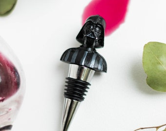 Darth Vader Gift Wine Stopper for Bottle Friend Birthday Gift Unique Star Wars Gift for Fan of Star Wars Husband Birthday Coworker Boss Gift