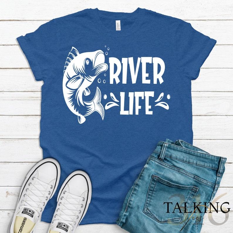 River Rat Life at the River Gift for River Lover River Life Happy Place River Life Cute River Shirts River Shirt