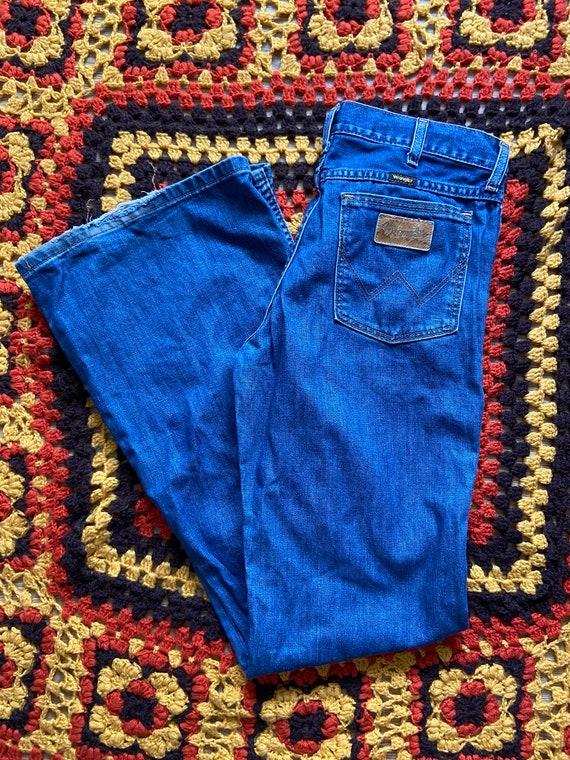 Wrangler flare jeans