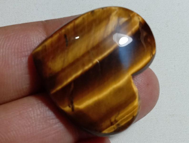 32x28x8 mm Tiger eye Gemstone,AAA quality Tiger eye loose Gemstone,Cabochon Tiger eye,Natural stone Flashy Tiger eye  55.00ct