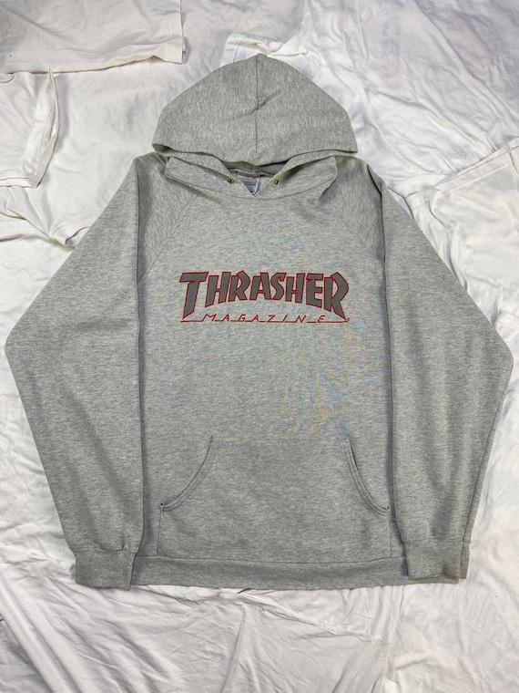 Vintage 1980's Thrasher Raglan Hoodie