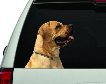 Laptops Cane Corso Dad Vinyl Sticker Decal Dog Breed Sticker Canine Owner Gift Car Windows for Tumblers
