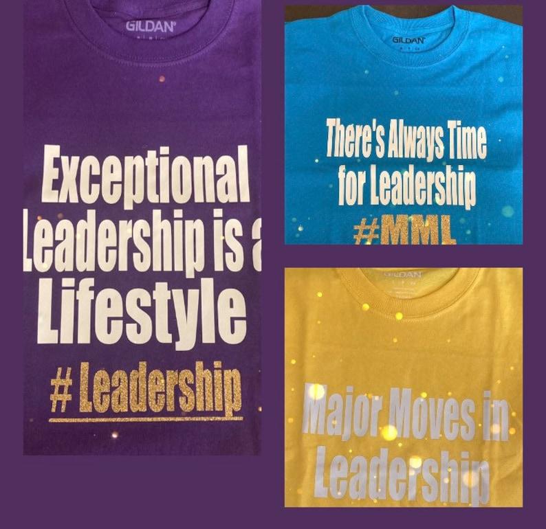 Leadership T-shirts image 0