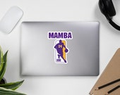 Los Angeles Kobe 24 Mamba Bubble-free stickers