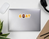 Los Angeles Lebron The Goat Bubble-free stickers