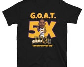 Los Angeles Kobe GOAT Legends Never Die Short-Sleeve Unisex T-Shirt