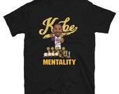 Los Angeles KOBE-Clutch Mentality Short-Sleeve Unisex T-Shirt