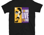 Los Angeles Legends Live 24ever Kobe Short-Sleeve Unisex T-Shirt