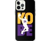 Los Angeles 24 KOBE Memorabilia iPhone Case Iphone 11, Iphone 12 Pro Max, Iphone 12