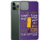 Los Angeles Kobe MileStone Awards Tribute iPhone Case Iphone 11 Pro Iphone 12 Pro Max