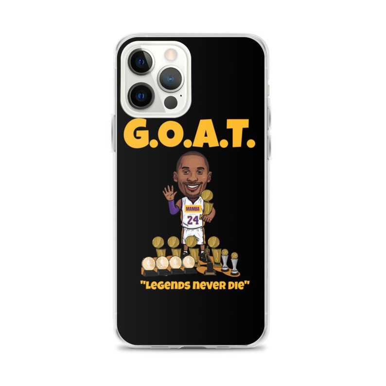 Los Angeles Kobe The Goat iPhone Case for Iphone XS Max Iphone image 0