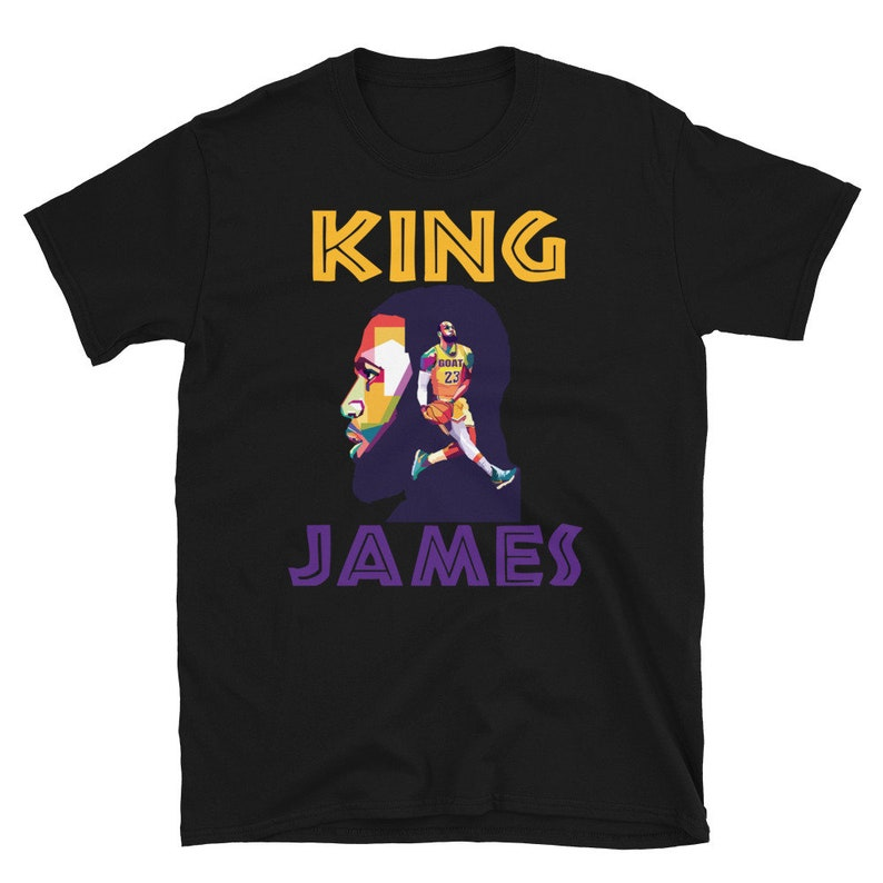 Los Angeles KING JAMES HEAD Dunking Short-Sleeve Unisex image 0