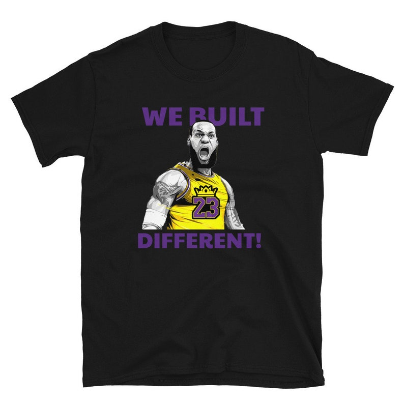 Los Angeles Lebron We Built Different Dawg James Lakers image 0