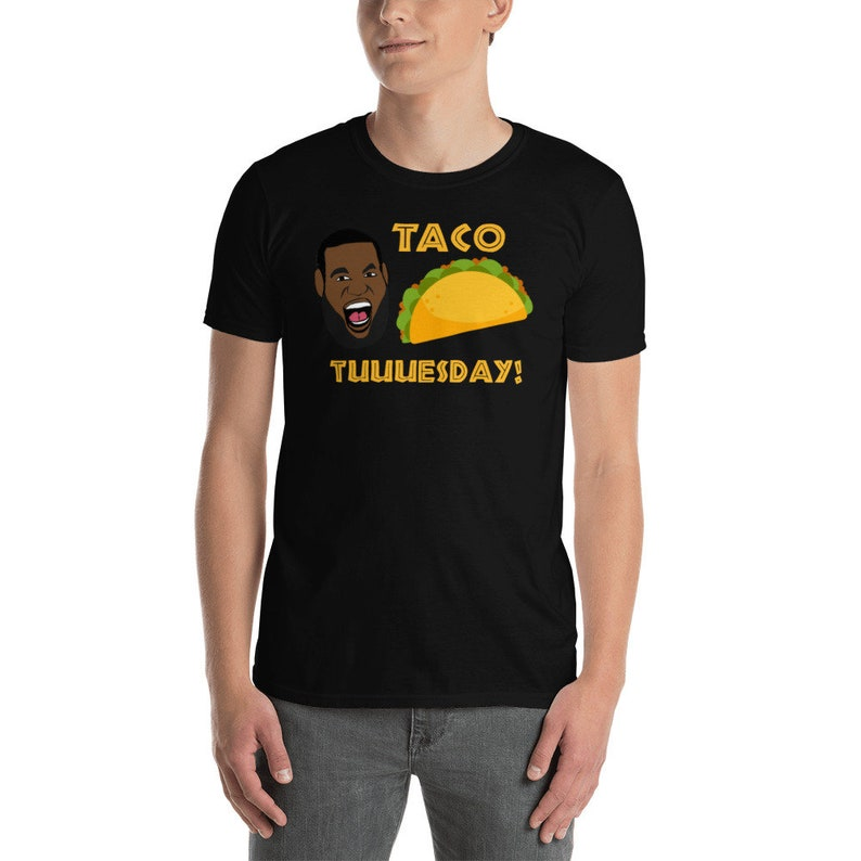 Lebron-James Taco Tuesday Gang Short-Sleeve Unisex T-Shirt image 0