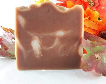 Log Cabin Soap, all natural handmade soap bar, chemical and preservative free, sensitive skin soap, soothing gentle soap, moisturizing soap