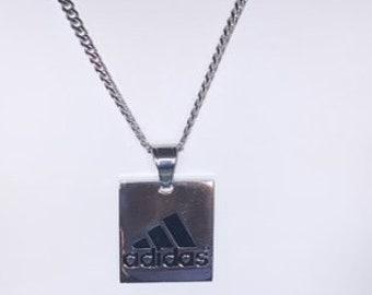 Aceptado Egomanía deberes  Adidas necklace | Etsy