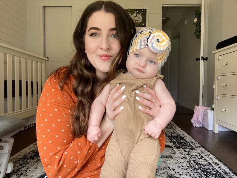 Summer 2020 Handmade Baby Turban