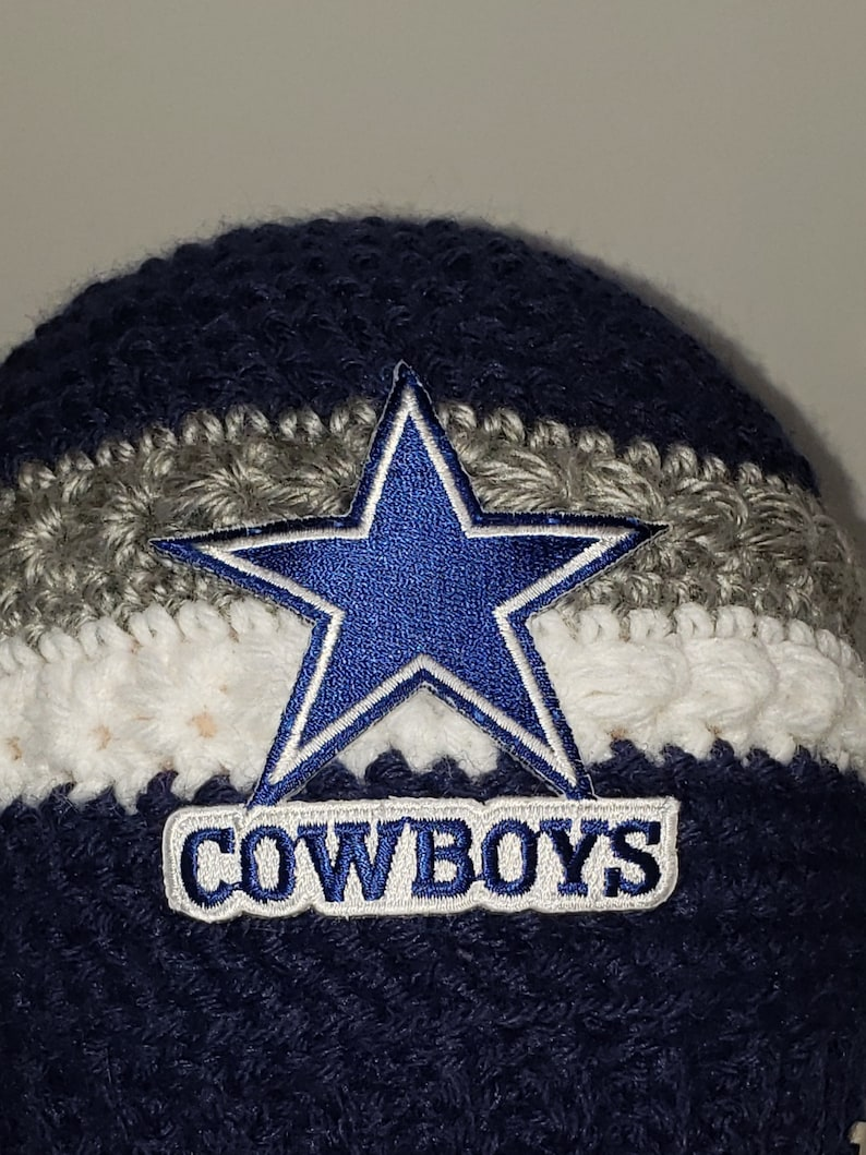 Dallas Cowboys Ponytail Beanie