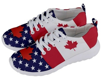 Canvas High Top Sneaker Casual Skate Shoe Boys Girls France Flag French National Emblem