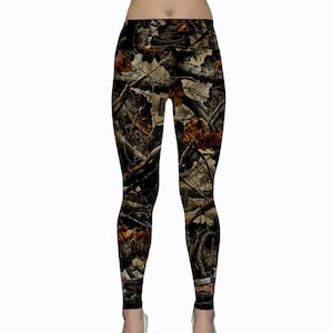 Running Wildcats Camo Camouflage Leggings Yoga Pants for Northwestern Fans