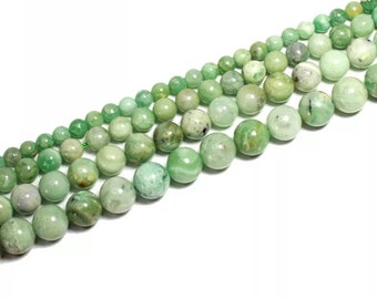 Wholesale South African Jade Natural Gemstone Polished Quartz Beads for Jewelry MakingPendantNecklaceBraceletLuck Gift
