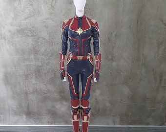 Captain Marvel Costume Etsy Try our free drive up service, available only in the target app. captain marvel costume etsy