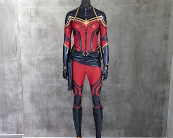 Captain Marvel Costume Etsy Top 10 captain america costumes. captain marvel costume etsy
