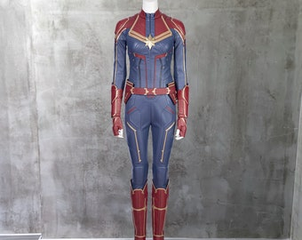 Captain Marvel Costume Etsy It was easily the best marvel movie i had ever seen. captain marvel costume etsy