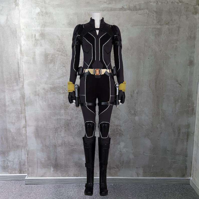 Black Widow Costume Cosplay Suit Natasha Romanoff