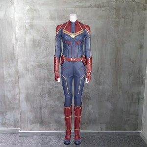 Captain Marvel Costume Etsy Shop for captain marvel kids clothing in kids character shop. captain marvel costume etsy