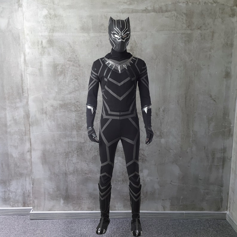 Black Panther Costume Cosplay Suit