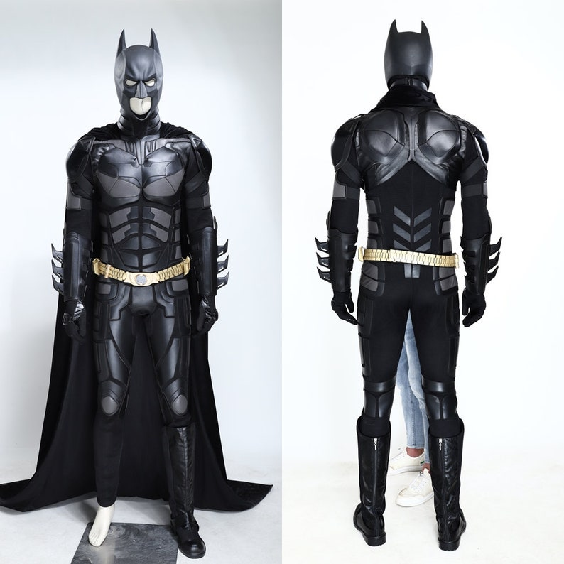 Cosplay Suit Bruce Wayne The Dark Knight