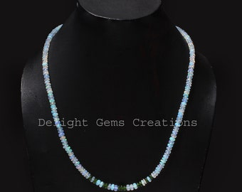 52.09ctw Black Fire Opal /& Chrome Diopside Sterling Silver Necklace 16 inch