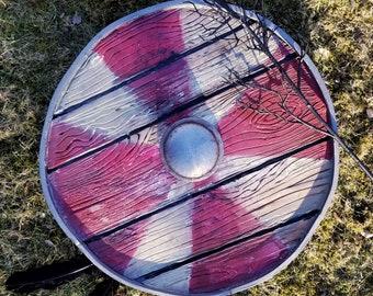 Valheim Multicolor Viking Shield Cosplay Costume Prop
