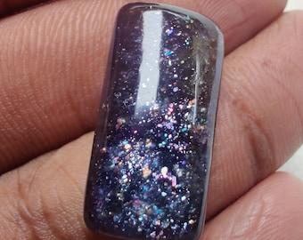 Fancy Shape iolite Sunstone Gemstone,Cabochon,Top Quality iolite Loose Gemstone 19.5 Cts iolite Sunstone 26x12x5mm 100/% Natural AAA Rare