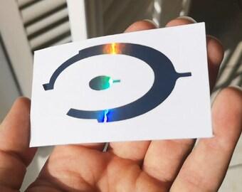 Halo CE Gun Metal Holographic Decal Sticker Vinyl