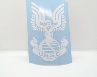 Halo UNSC Decal Sticker Vinyl